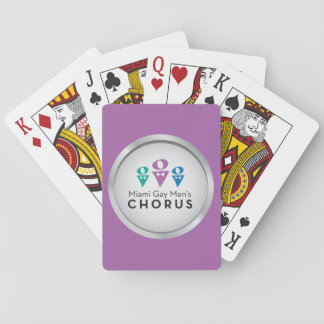 MGMC Logo Playing Cards - Purple