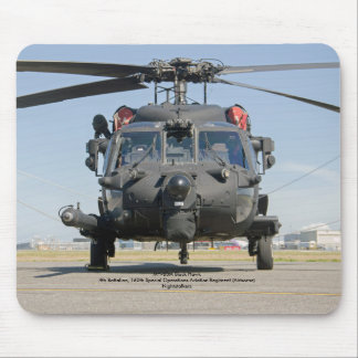 MH-60M Black Hawk Special Operations helicopter Mouse Mat