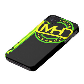 MHD Clothing Company iPhone Case (Drips) BGY iPhone 4 Case-Mate Cases