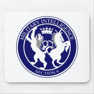 MI6 Logo Button Mouse Mat