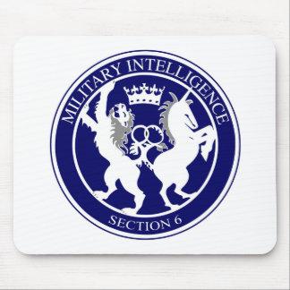 MI6 Logo Button Mouse Pad