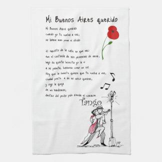 Mi Buenos Aires Querido Tango Towel