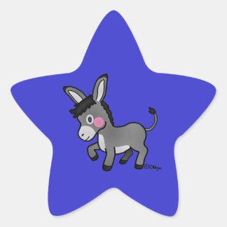 Mi burro star sticker