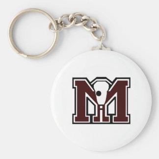MI Lacrosse Key Chains