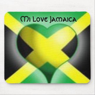 Mi Love Jamaica Mousepad