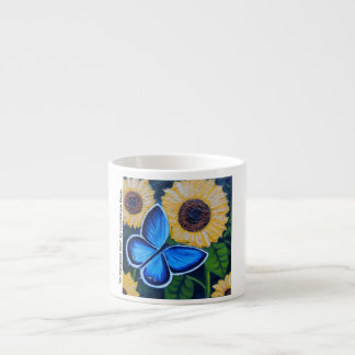 Mi Mariposa Azul Espresso Mug