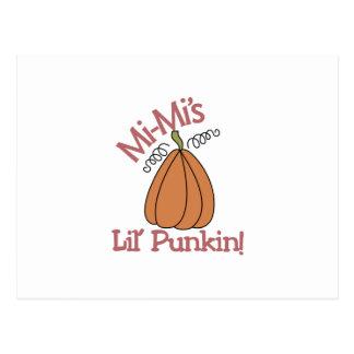 Mi-Mi's Lil' Punkin! Postcard
