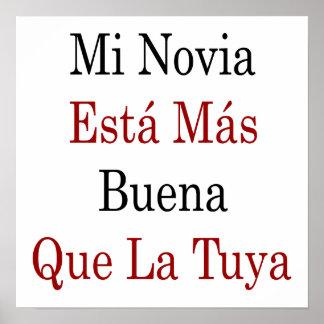 Mi Novia Esta Mas Buena Que La Tuya Poster