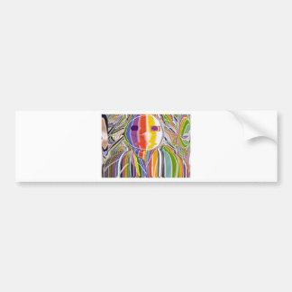 Mia FUNTOOSH - fun toosh Charactor by Navin Bumper Stickers