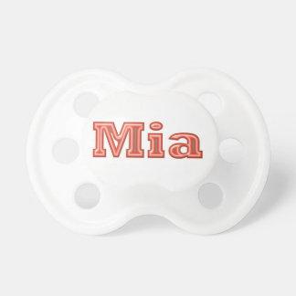 MIA   Girl Name Text Dummy