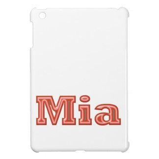 MIA   Girl Name Text iPad Mini Covers