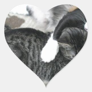 Mia & Gizmo Heart Sticker