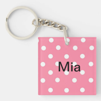 Mia Name Key Chain