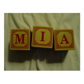 Mia Post Card