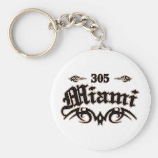 Miami 305 key ring