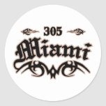 Miami 305 stickers