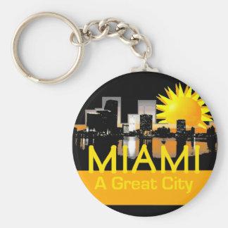 MIAMI A Great City Keychain