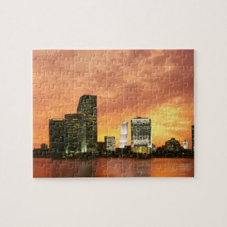 Miami at Sunset Jigsaw Puzzle