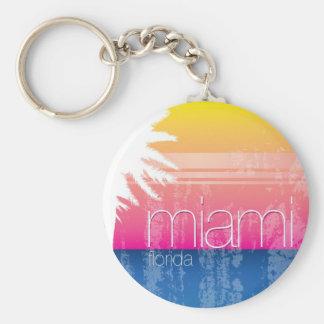 Miami at Sunset Key Ring