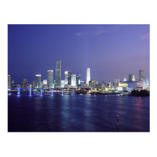 Miami at Twilight Postcards