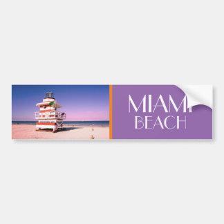 Miami Beach #01 Bumper Sticker