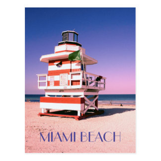 Miami Beach #01 Postcard