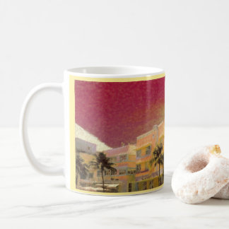 Miami Beach Art Deco Coffee Mug