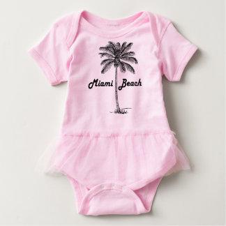 Miami Beach Baby Bodysuit