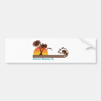 Miami Beach Bumper Sticker