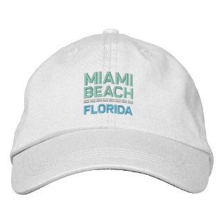 MIAMI BEACH cap Embroidered Hat