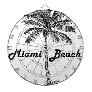 Miami Beach Dartboard