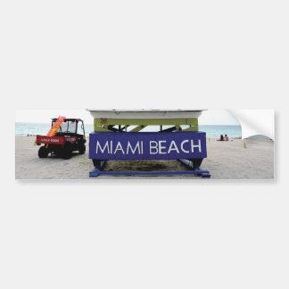 Miami Beach Florida #02 Bumper Sticker