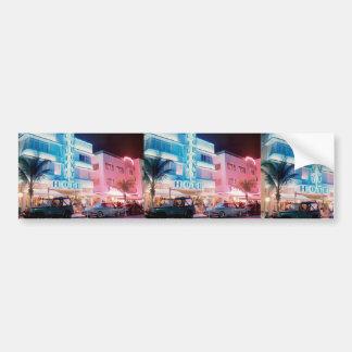 MIAMI BEACH FLORIDA BUMPER STICKER