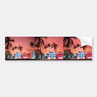 Miami Beach, Florida Bumper Sticker