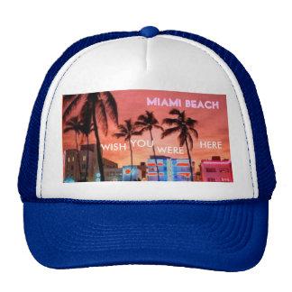 Miami Beach, Florida Cap