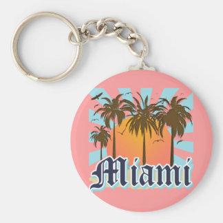 Miami Beach Florida FLA Key Ring