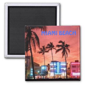 Miami Beach, Florida Fridge Magnet