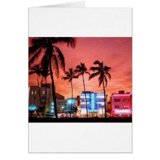 Miami Beach, Florida Greeting Cards