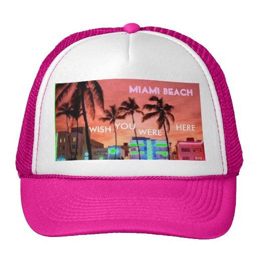 Miami Beach, Florida Hats