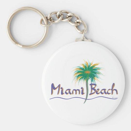 Miami Beach, Florida Key Ring