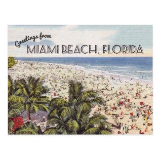 Miami Beach Florida Postcard | Vintage