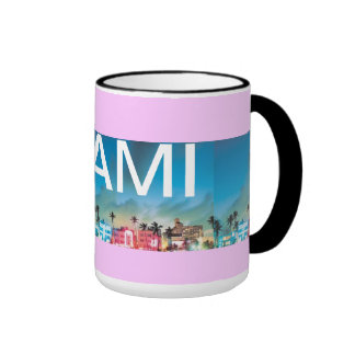 MIAMI BEACH, Florida Ringer Mug