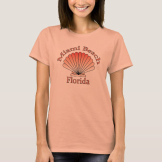 Miami Beach Florida Seashell T-shirt