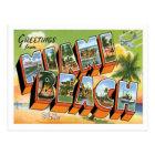 Miami Beach Florida Travel US City Postcard