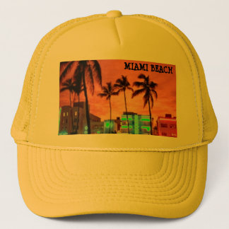 Miami Beach, Florida Trucker Hat