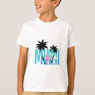 Miami Beach, Florida, Typography Cool T-Shirt