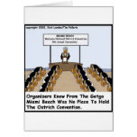 Miami Beach Ostrich Convention Funny Gifts & Tees