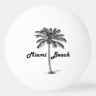 Miami Beach Ping Pong Ball
