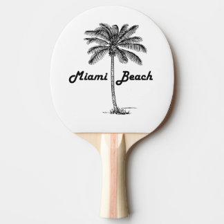 Miami Beach Ping Pong Paddle