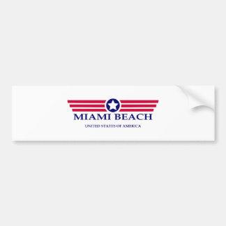 Miami Beach Pride Bumper Sticker